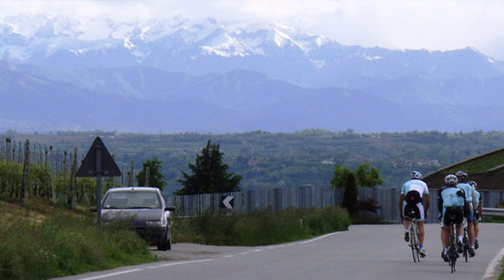 from Giro Tour 2013 - Stunning Italian Cycling Scenery