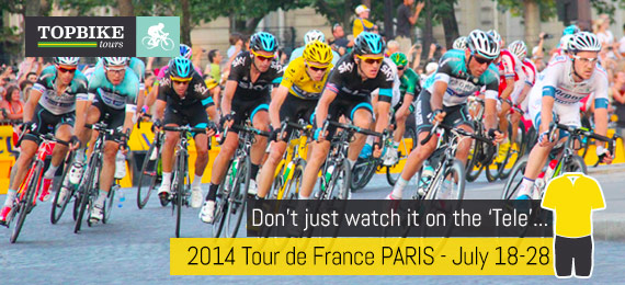 Tour de France - Cycling Holiday - Paris finish with Topbike Tours