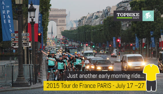 Tour de France - Cycling Holiday - Ride to Paris with Topbike Tours