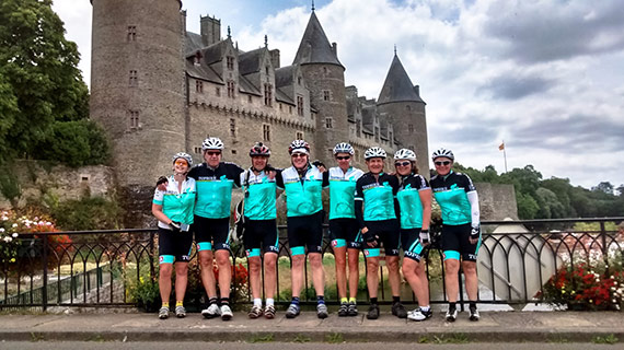 Tour de France 2015 Tour 1 - Topbike Riders enjoying cycling the sights of France