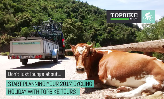 2017 European Cycling Holidays with Topbike Tours