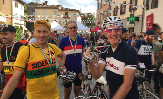 L'Eroica with Topbike Tours - Vintage Cycling in Chianti Region, Tuscany Italy