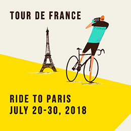 Topbike Tour de France Ride to PARIS - July 20-30 2018
