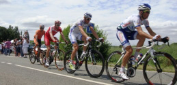 Stage 5 - Todays Breakaway of four at 70k in