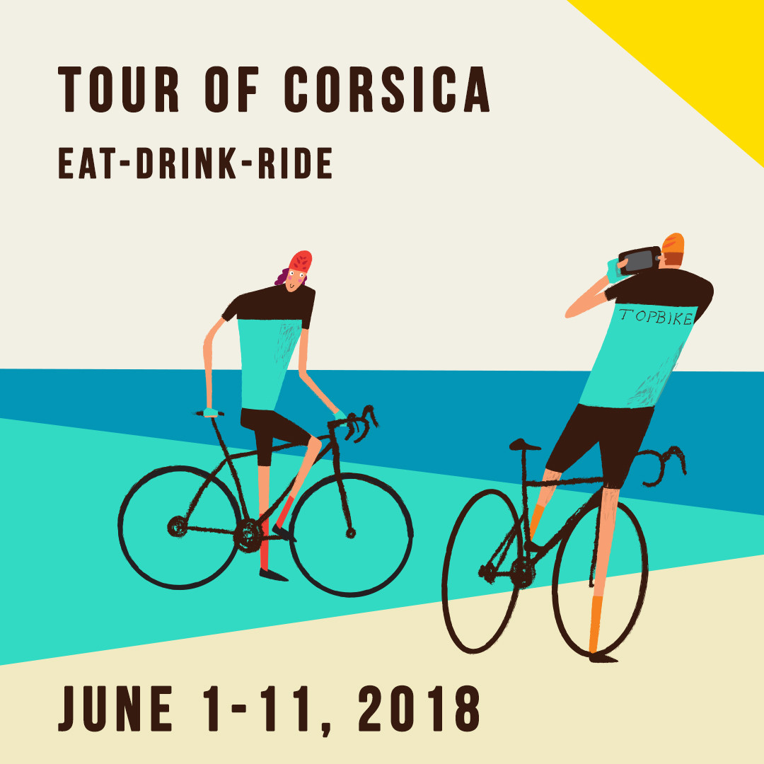 2018 Topbike Tour of Corsica - June 1-11 2018, France