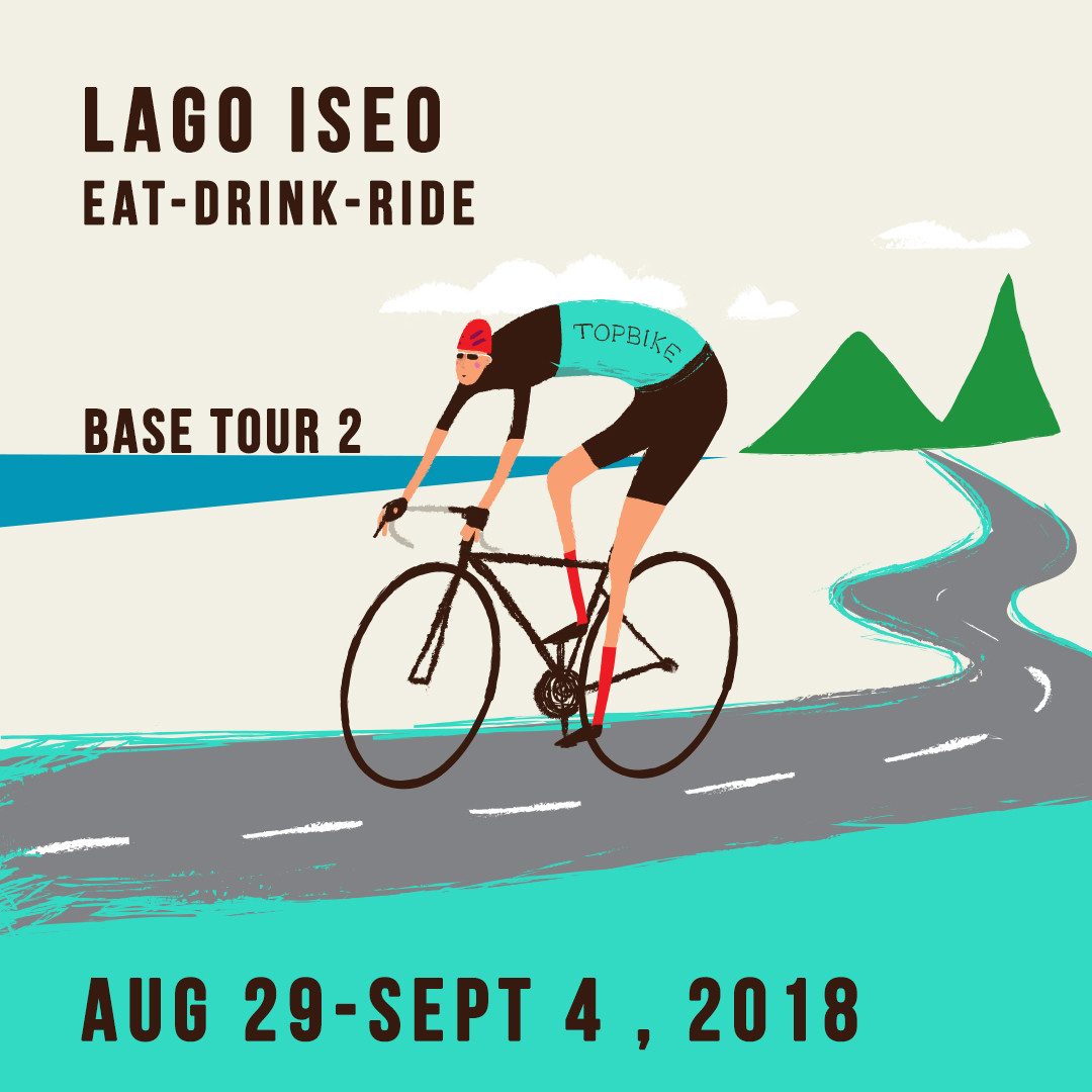 2018 Topbike Base Tour 1 - Lago Iseo & Climbs - Aug 29-Sept 4 2018, Cycling Italy