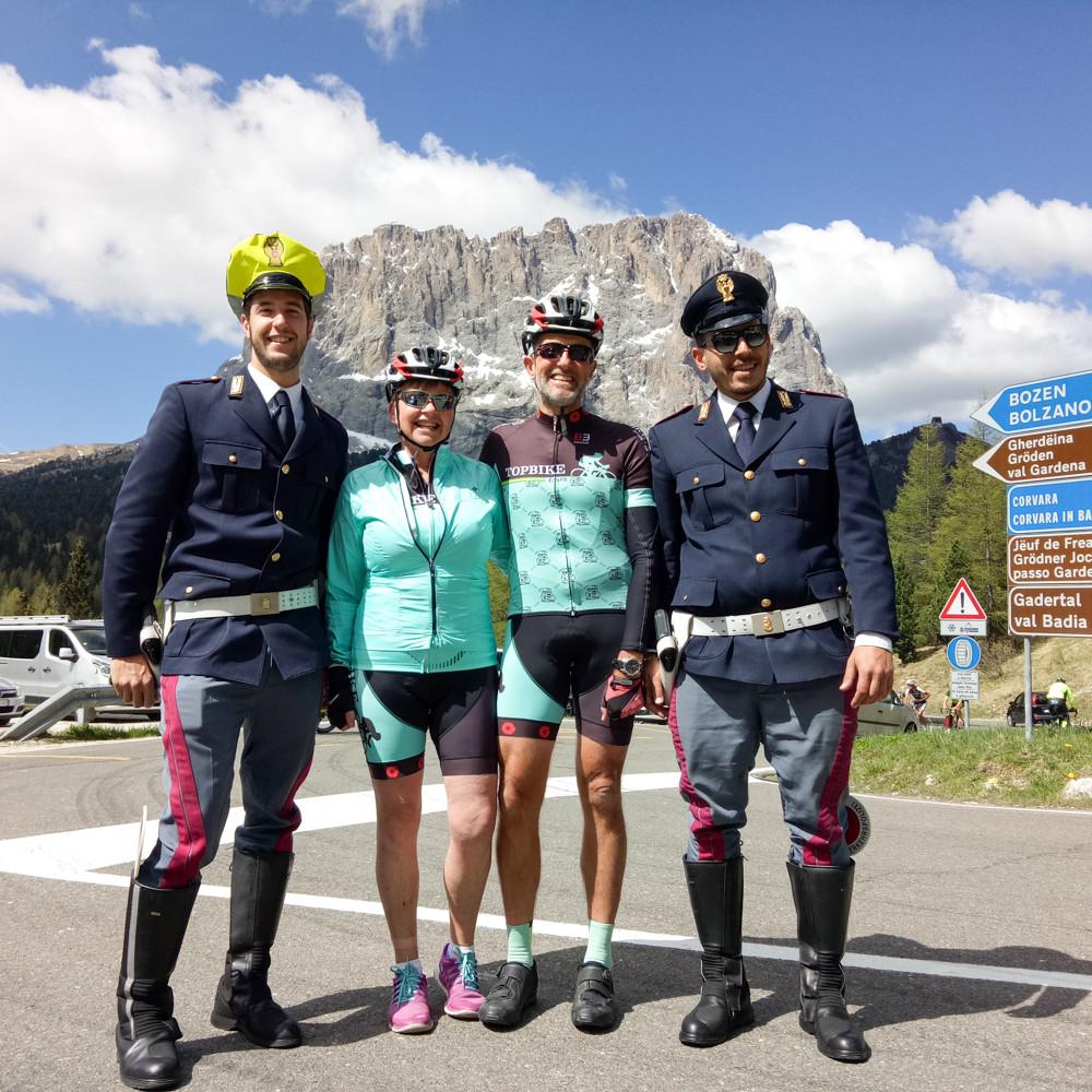 Giro d'Italia - Topbike Tours GIRO Tour, in the Italian Dolomites
