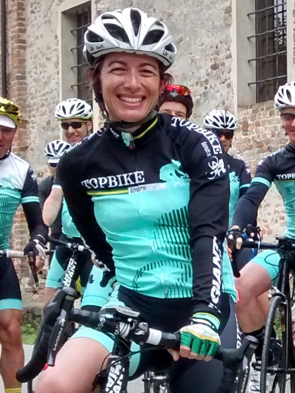 Liv Gollan - Topbike Tour Guide