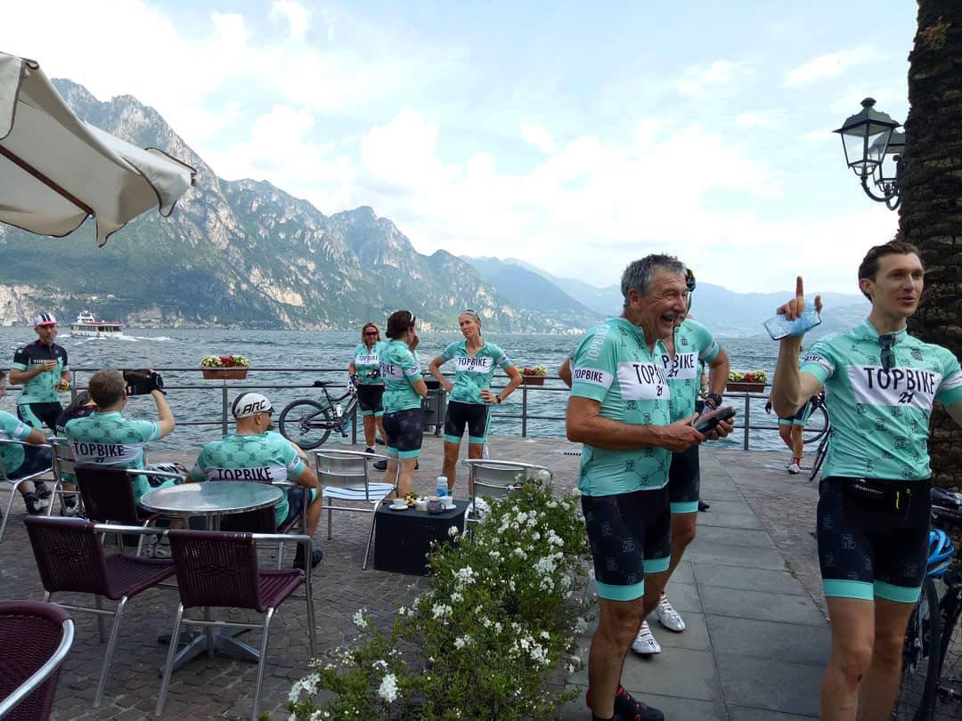 Topbike 21 - Our 21st Anniversary Edition gear on tour -Day 1 on Lake Iseo, Classic Italian Climbs - Feast of Ascension