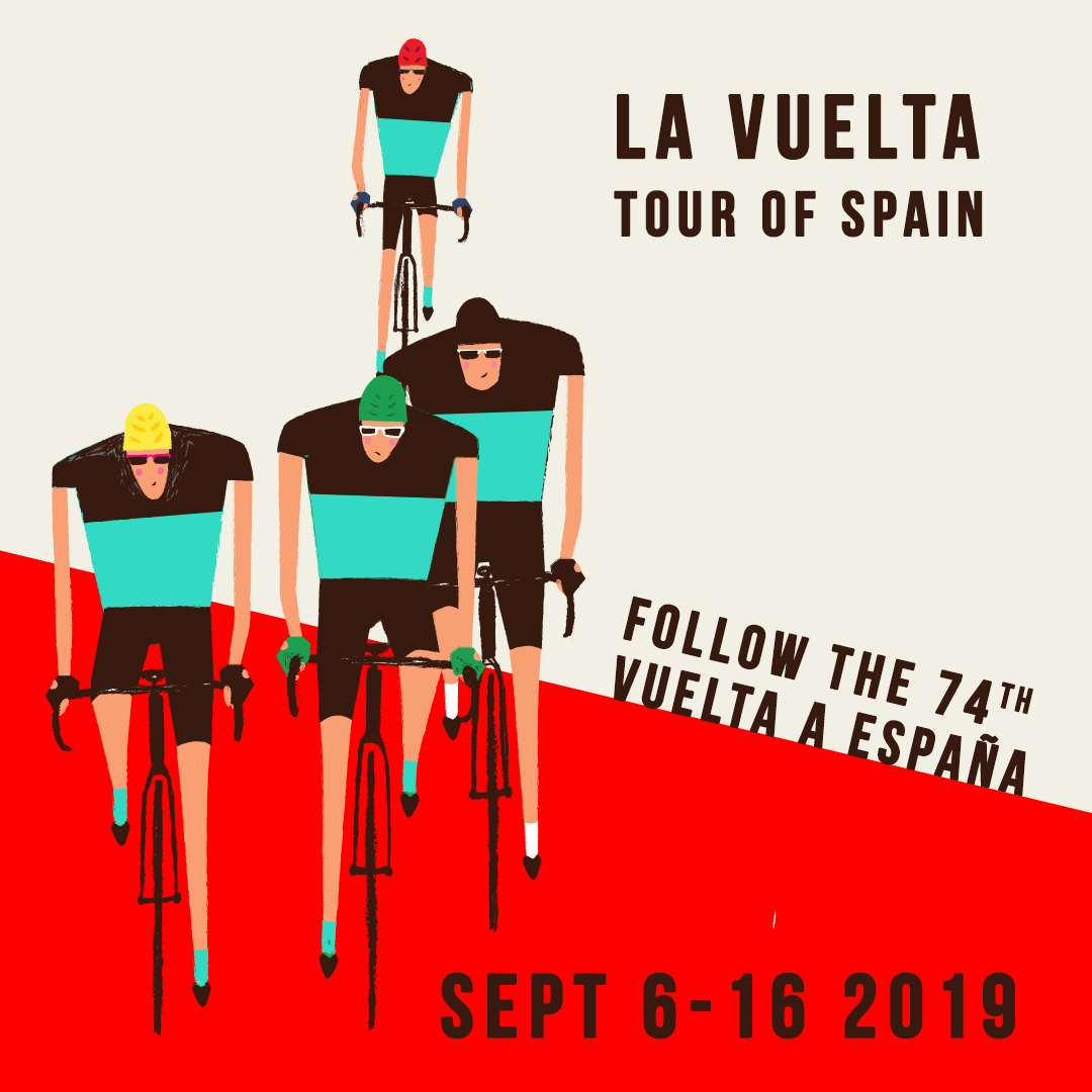 "Topbike 2019 Tour of Spain ""La Vuelta"" Sept 6-16 2019"