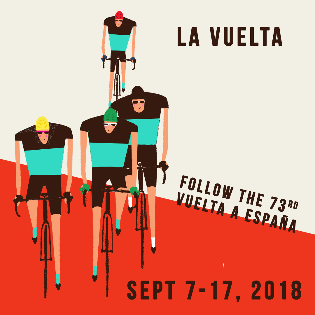 2018 Vuelta a Espana - Topbike La Vuelta (Tour of Spain) - Sept 7-17 2018, Spain