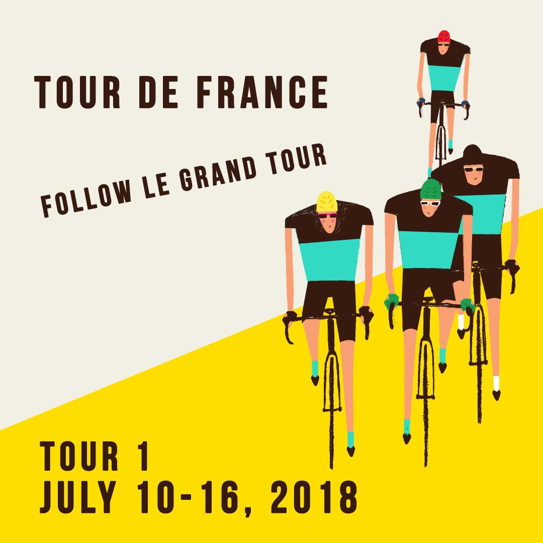 2018 TDF - Topbike Tour de France - Tour 1 July 10-16 2018