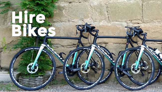 Topbike Custom Made Italian Hire Bikes - Casati Bike Features and Hire Bike Information