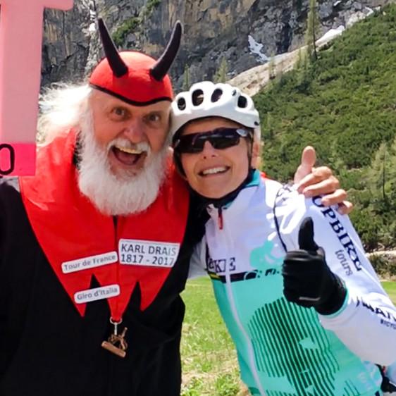 Annabelle Drew - Topbike Tours Giro