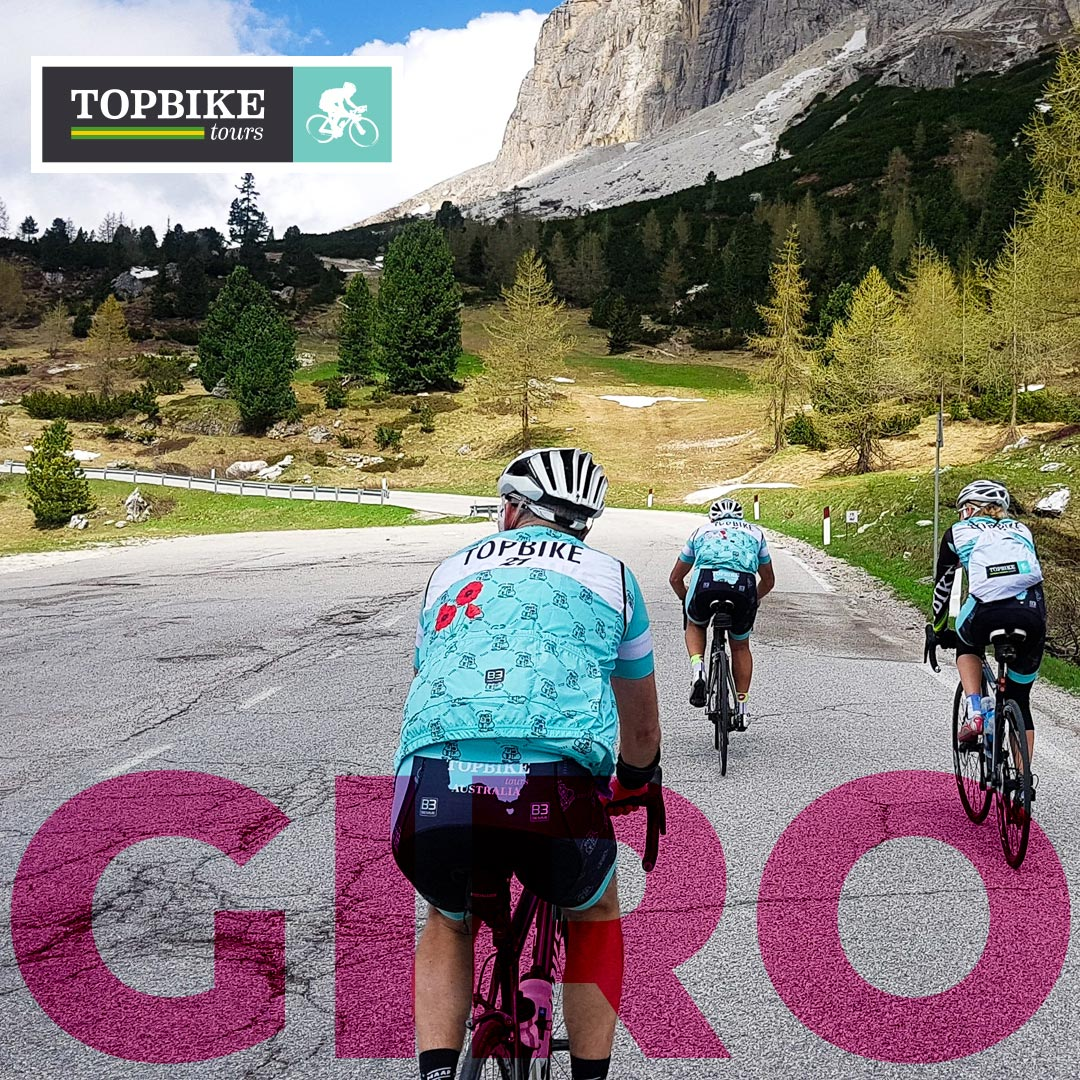 On the 2018 Giro Tour with Topbike Tours