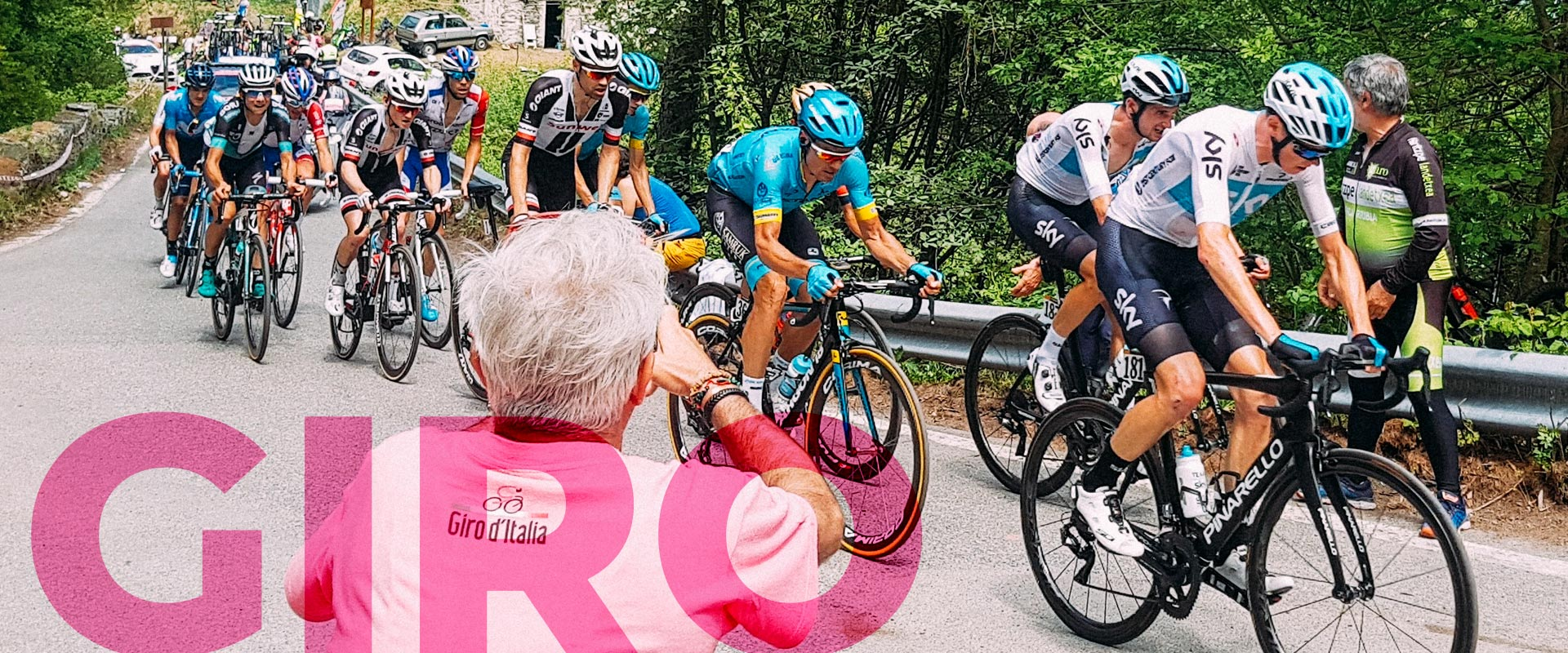 2019 Giro Tour Itinerary Available - Reserve your place and book your holiday