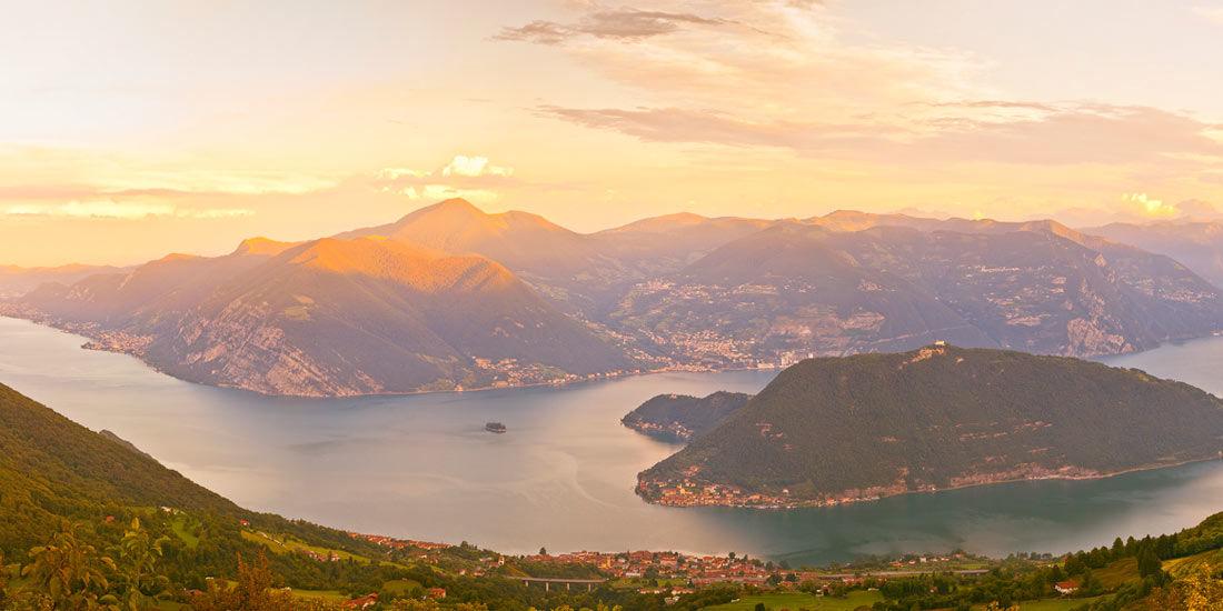 Lago d'Iseo - Lake Iseo Topbike's Base Tour Lifestyle Cycling Holiday, Lombardy Italy