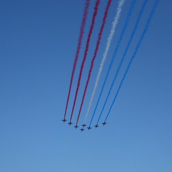 Tour de France - French aerial display, The Patrouille de France, Paris