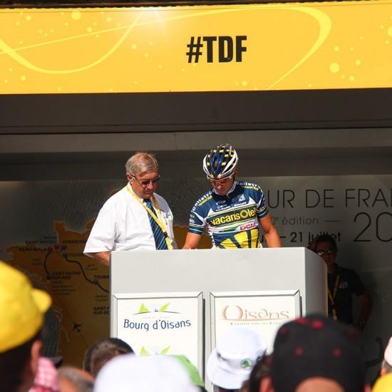 Topbike TDF Tour - Tour de France Stage Sign On & Race Start - Bourg d'Oisans