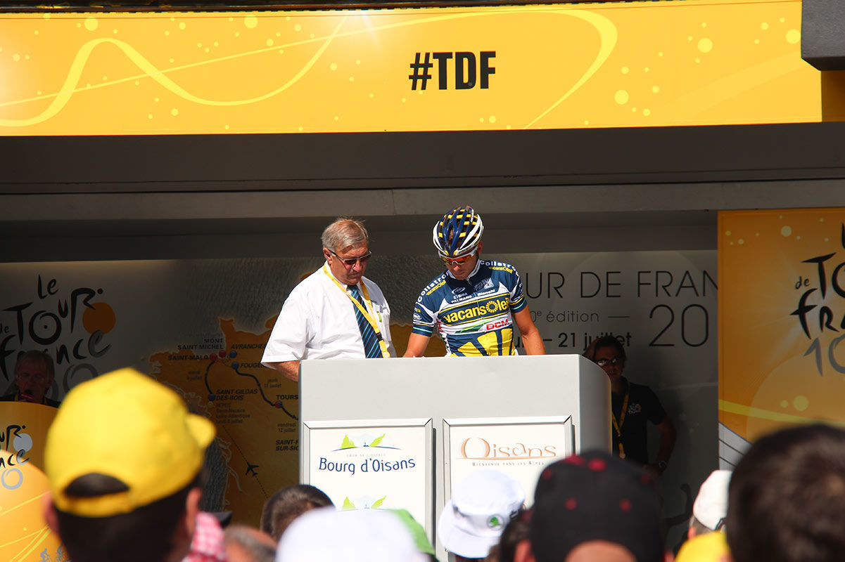 Topbike TDF Tour - Tour de France Stage Sign On & Race Start - Bourg d'Oisans