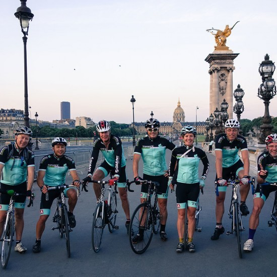 Topbike Tours TDF PARIS Tour - early morning breakfast ride through Paris