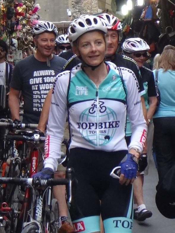 Annabelle Drew - Topbike Tour Leader