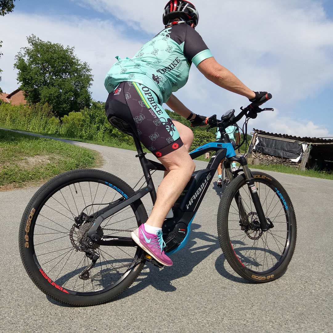 EBikes - You can now enjoy your cycling holiday on an electric bike with Topbike Tours