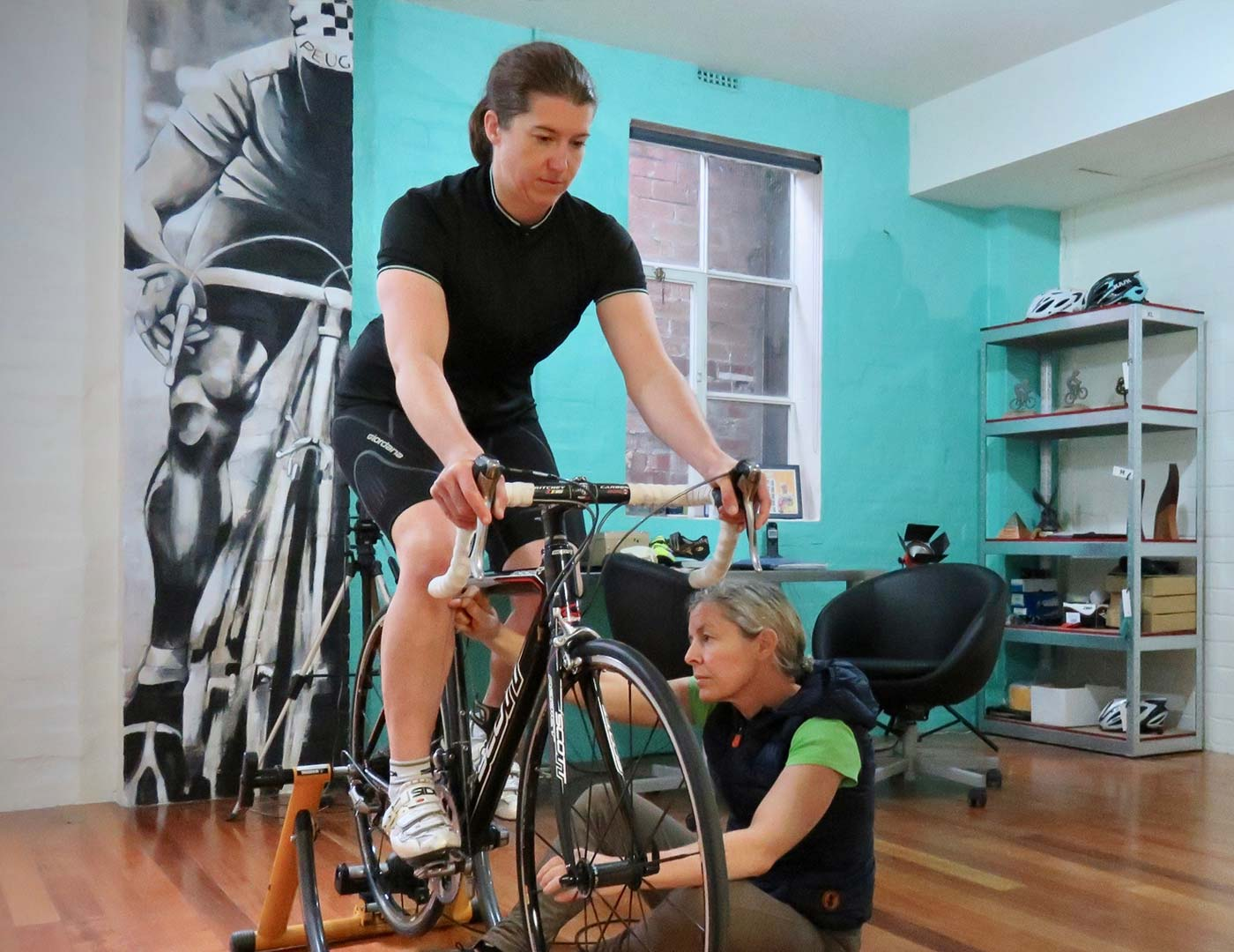 Physio Bike Fit Process with Topbike Physio Emma Colson