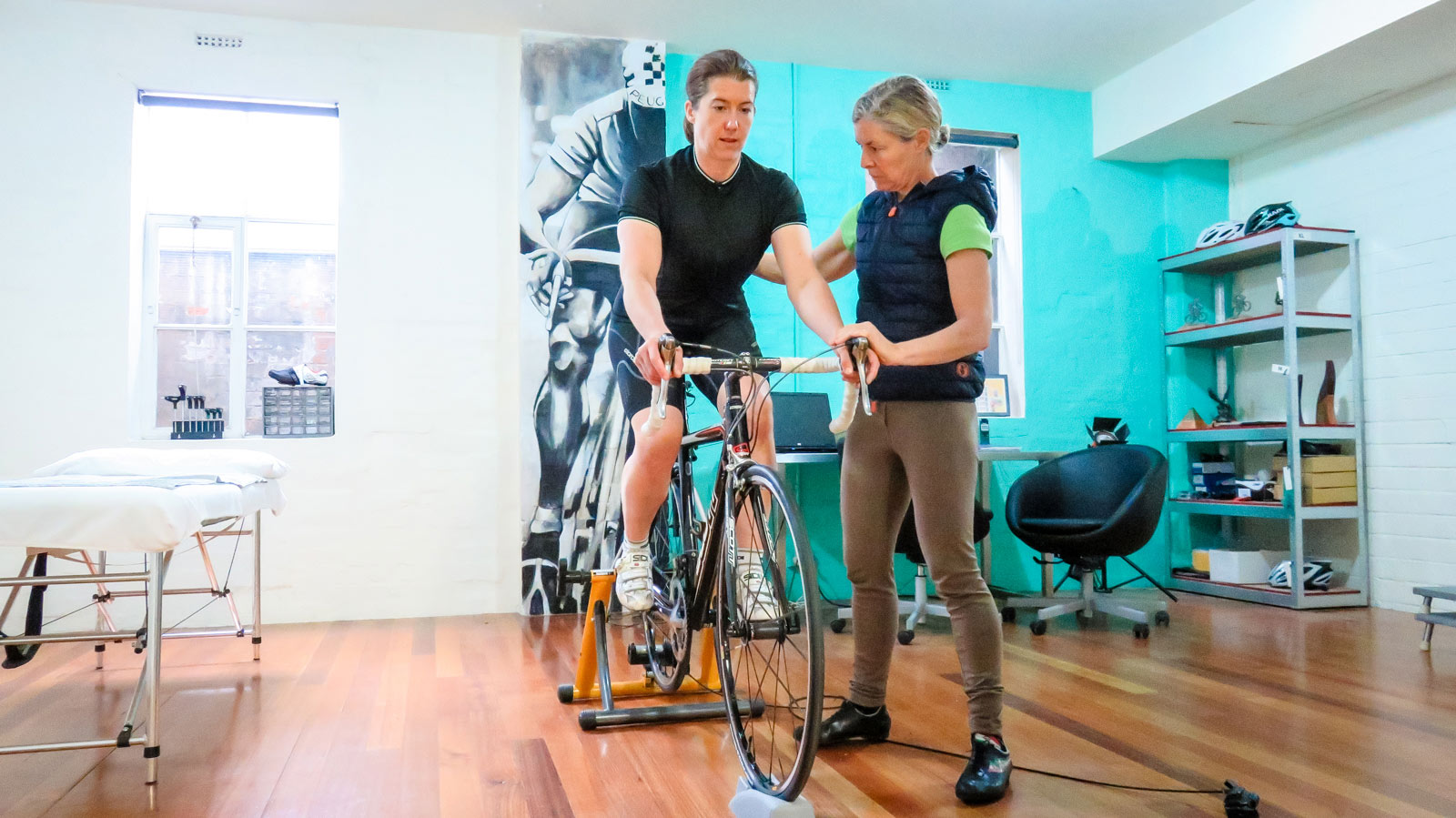 Topbike Physio Bike Fit - Emma Colson Melbourne