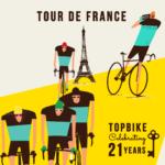 TDF 2018 - Topbike Celebrating 21 Years of European Tours