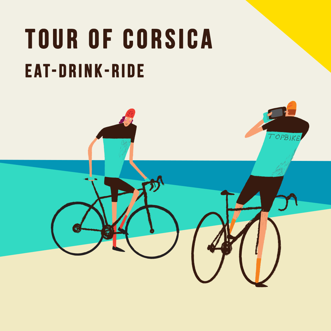 Topbike Tour of Corsica - Eat-Drink-Ride