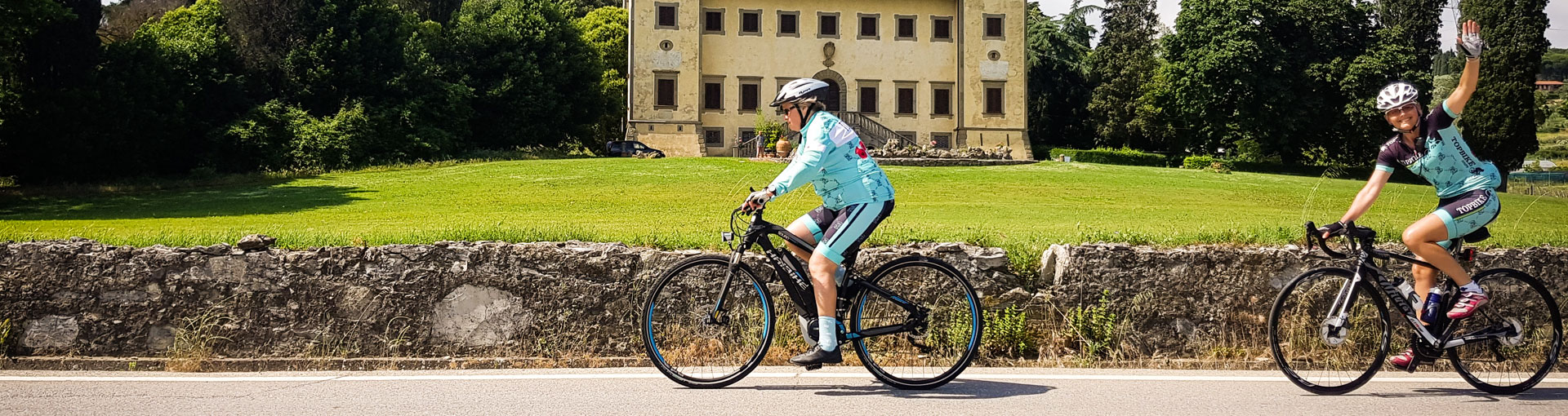 Italian Cycling Holiday in Tuscany - 2019 Topbike Tour of Tuscany - Eat-Drink-Ride - May 8-18 2019