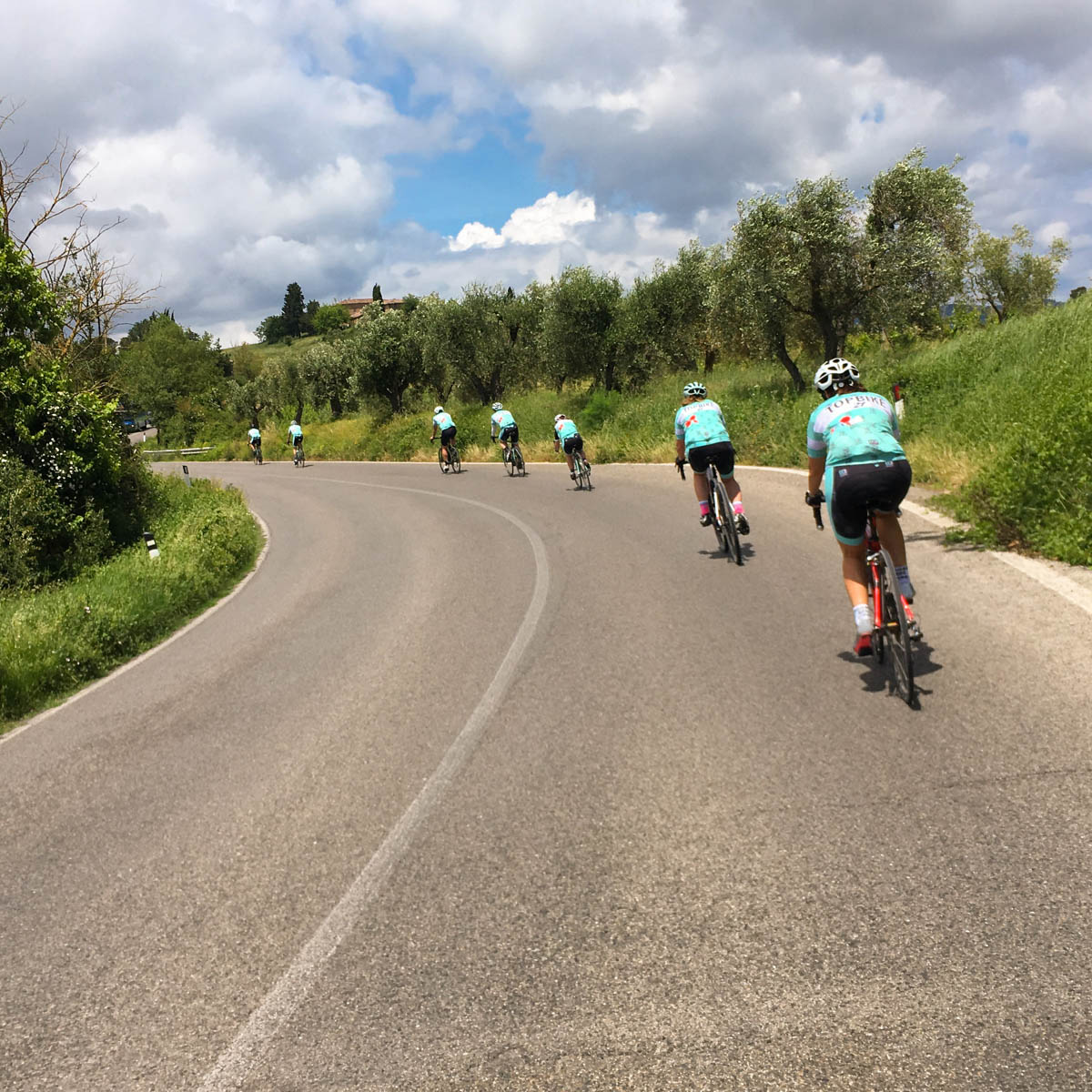 Cycling in Tuscany, Topbike Tour of Tuscany - 'Eat-Drink-Ride'
