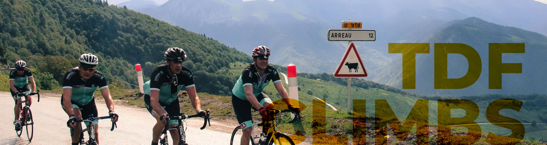 "Cycling to Arreau, 2019 Tour de France Climbs - ""Eat-Drink-Ride-Suffer"" - Topbike Tours"