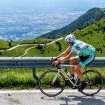 Paul Miller & Naomi, high on the Montegrappa - Topbike Classic Italian Climbs 2018