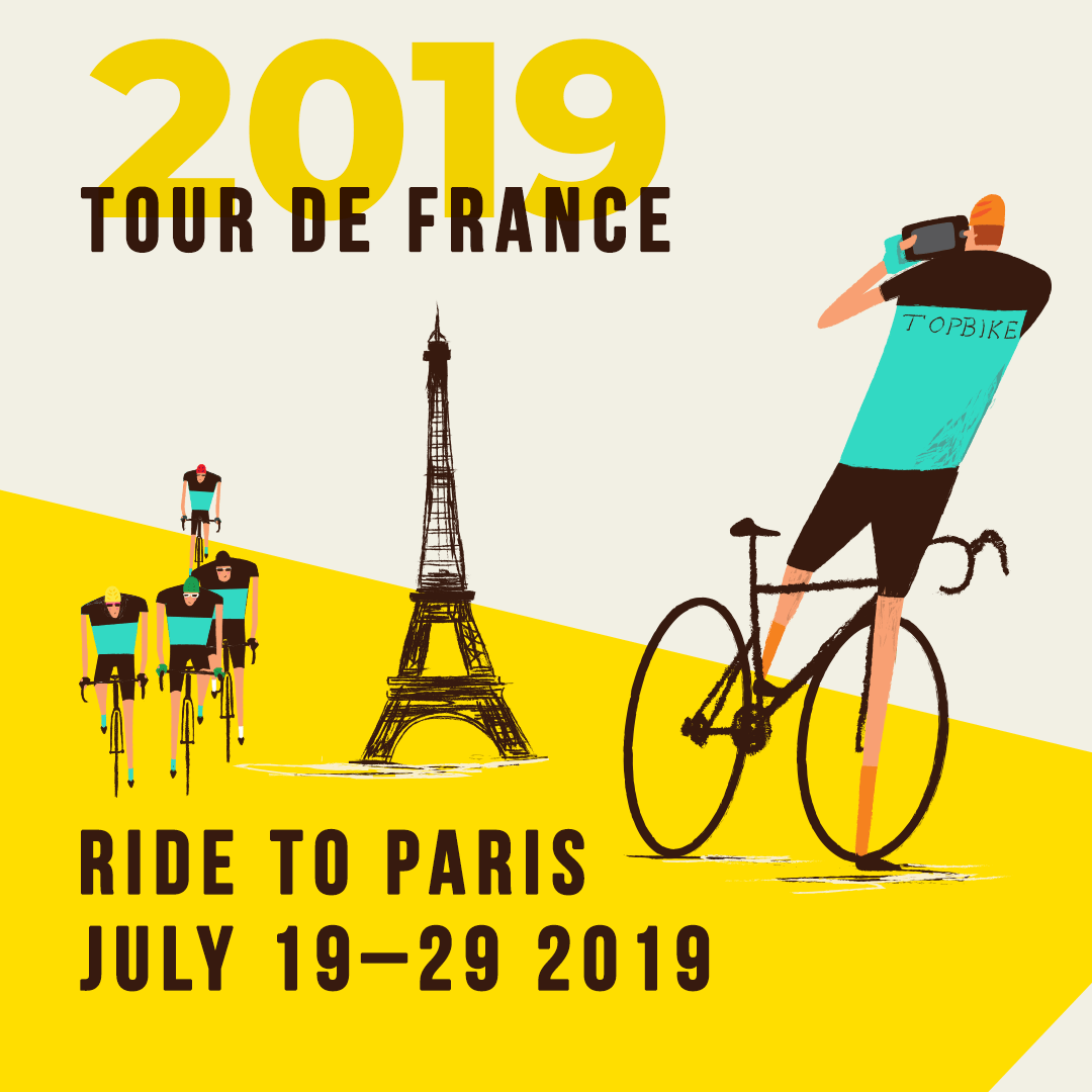 2019 Tour de France Cycling Holiday - Ride to Paris with Topbike Tours
