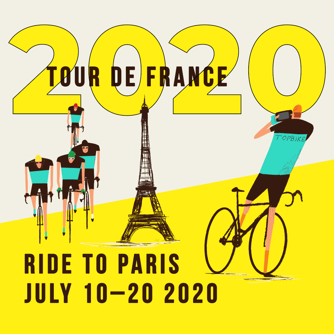 Tour De France Schedule 2020.2020 Tour De France Tdf Ride To Paris Topbike Tours Tdf