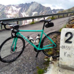 Riding Passa Gavia on my Casati - David Olle