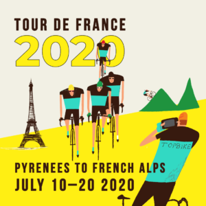 Tour de France 2020 Ride All the Climbs - Pyrenees to The French Alps, Toulouse to Grenoble with Topbike Tours | July 10-20, 2020