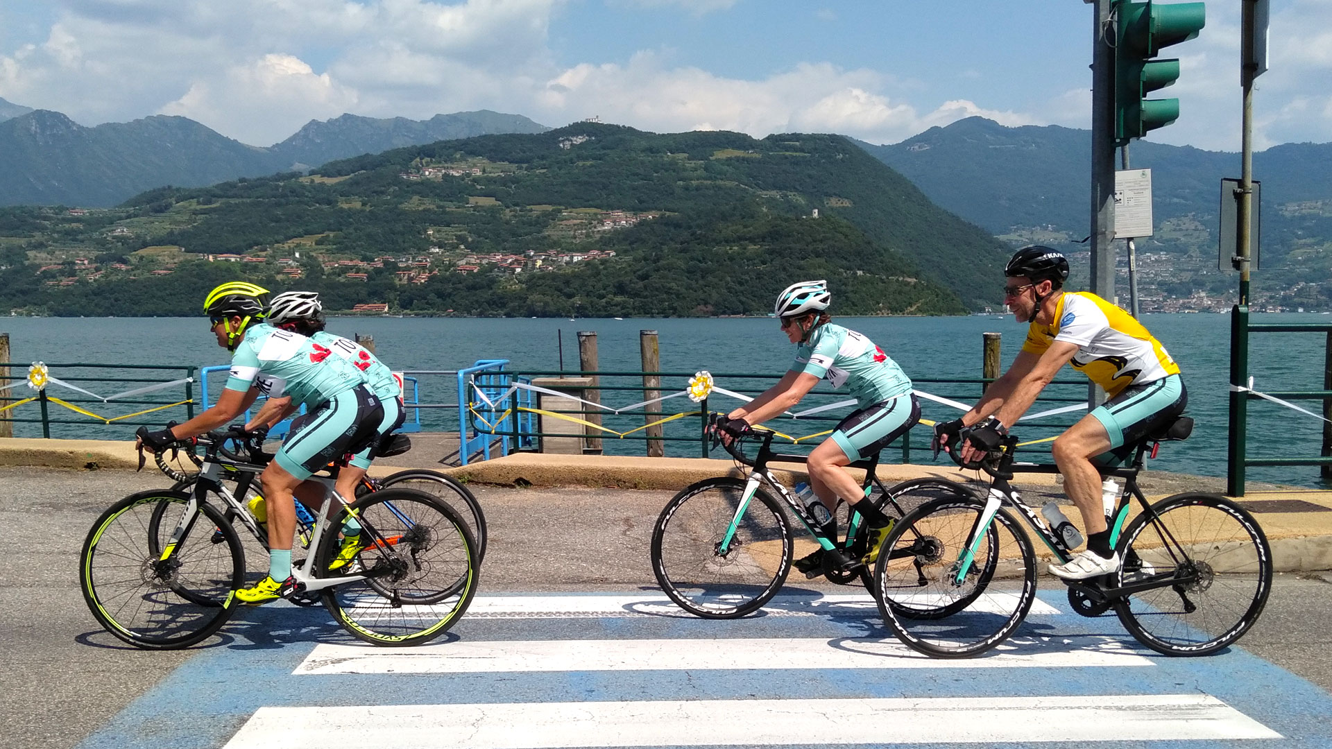 Base Tour: Lago Iseo - Cycling in Italy with Topbike Tours