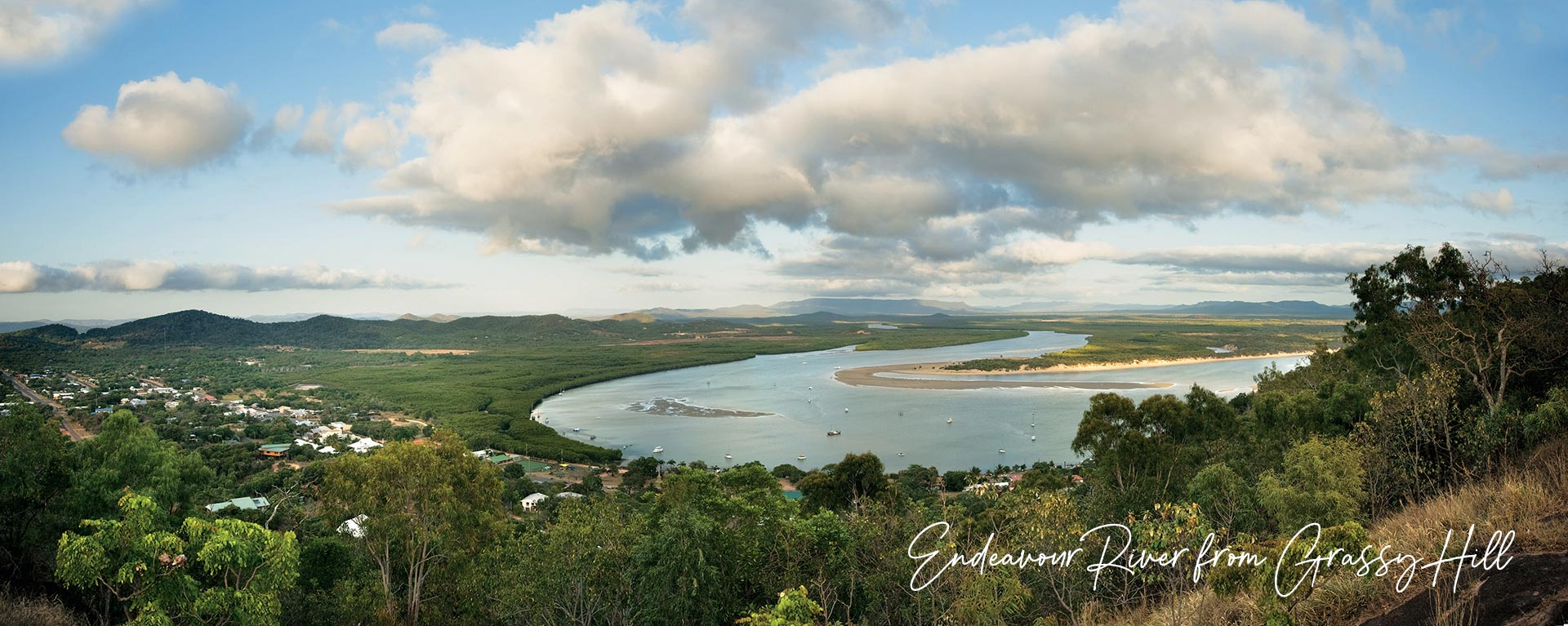 Endeavour River from Grassy Hill, Cooktown